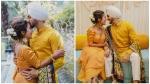 नेहा कक्कड़ की हल्दी सेरेमनी की 10 सबसे खूबसूरत तस्वीरें, रोहनप्रीत संग दिए रोमांटिक पोज
