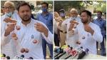 बिहार चुनाव में भी लगा 'महंगी प्याज का तड़का', प्याज की माला पहनकर तेजस्वी ने बोला- BJP-JDU पर हमला