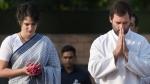इंदिरा गांधी की पुण्यतिथि पर राहुल ने ट्वीट किया श्लोक, प्रियंका ने शक्ति स्थल जाकर दी श्रद्धांजलि