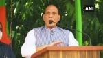बिहार में चुनावी रैली में राजनाथ सिंह ने कहा, 'लालटेन फूट गई और तेल बह गई है'