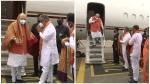 Hyderabad Election: निकाय चुनाव में प्रचार करने के लिए हैदराबाद पहुंचे अमित शाह, करेंगे रोड शो