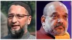 अमित शाह की चुनौती, 'लिखकर दें ओवैसी रोहिंग्या-बांग्लादेशी को बाहर करना है, मैं करूंगा', AIMIM चीफ ने दिया ये जवाब