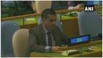 UN में भारत ने पाकिस्तान को लगाई फटकार, आतंकवाद से लेकर करतारपुर साहिब गुरुद्वारे पर घेरा
