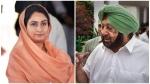 पंजाब CM अमरिंदर ने हरसिमरत कौर को बुलाया अनपढ़, तो महिला नेता बोलीं- 'पर आप साक्षर होकर भी...'