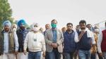 Farmers Protest में किसानों से मिलने पहुंचे दिल्ली के स्वास्थ्य मंत्री ने कहा- वॉटर प्रूफ टेंट सहित अन्य सुविधाओं के लिए निर्देश जारी