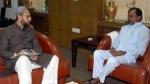 हैदराबाद नगर निगम चुनाव: केसीआर अब ओवैसी की AIMIM के सहारे