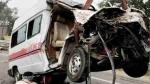 Bhadohi: खड़े ट्रक से टकराई तेज रफ्तार एंबुलेंस, हादसे में पांच लोगों की मौके पर हुई मौत
