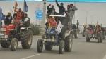 26 जनवरी को ट्रैक्टर रैली की तैयारी में पश्चिमी यूपी के नाराज किसान, 1500 ट्रैक्टर के साथ हुई रिहर्सल