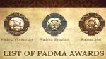 पद्म पुरस्कारों का ऐलान, 10 लोगों को मिला पद्म भूषण अवॉर्ड, देखिए पूरी लिस्ट