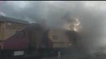 मालाबार एक्सप्रेस के लगेज वैन में लगी आग, यात्री की सतर्कता से टला बड़ा हादसा