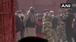 किसानों के उपद्रव के बाद लाल किला पहुंचे केंद्रीय मंत्री प्रहलाद पटेल, अधिकारियों के साथ लिया नुकसान का जायजा