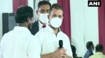 तमिलनाडु: राहुल गांधी बोले- भारत पर पुरुषवादी संगठन का नियंत्रण, RSS में एक भी महिला नहीं