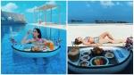 साला अली खान मालदीव वेकेशन पर बिकिनी में तैरते हुए लंच करती आईं नजर, हॉट लुक हुआ वायरल, देखें Photos