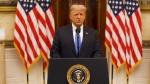 राष्ट्रपति के तौर पर डोनाल्ड ट्रंप का आखिरी संबोधन, Farewell Speech में बोले- राजनीतिक हिंसा बर्दाश्त नहीं