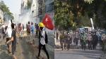 Myanmar में 'खूनी' रविवार को फिर भड़की हिंसा, अलग-अलग शहरों में 7 की मौत