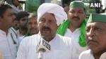 BKU अध्यक्ष नरेश टिकैत ने राजनाथ सिंह को बताया 'पिंजरे का तोता'