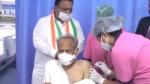 जयपुर : सीएम अशोक गहलोत ने लगवाया कोरोना का टीका, आमजन से भी वैक्सीनेशन की अपील