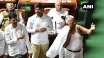 कर्नाटक: विधानसभा में कांग्रेस का हंगामा, FIR से नाराज विधायक ने उतारी शर्ट