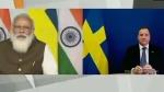 स्वीडिश पीएम से मोदी ने की बात, कहा- जलवायु परिवर्तन में सहयोग करता रहेगा भारत