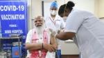 पीएम नरेंद्र मोदी ने दिल्ली AIIMS में लगवाई कोरोना वायरस की वैक्सीन, ट्वीट कर लोगों से की ये अपील