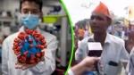 'धूप में बैठने से भाग जाएगा कोरोना वायरस', Video में देखें शख्स का अजीबोगरीब दावा