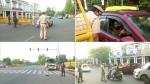 दिल्ली में वीकेंड लॉकडाउन: सड़कों पर नजर आए इक्का-दुक्का वाहन, पुलिस ने 2192 लोगों के चालान काटे