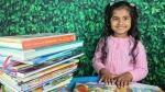5 साल की इस बच्ची को कहते हैं 'वंडर चाइल्ड', 105 मिनट में 36 किताबें पढ़ बनाया रिकॉर्ड