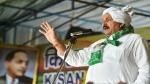 बीकेयू के राष्ट्रीय अध्यक्ष नरेश टिकैत का बयान, 'जान दे देंगे, लेकिन अपने आंदोलन को खत्म नहीं करेंगे'