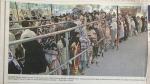 इमरान के अहंकार की सजा भुगत रहा पाकिस्तान, चीनी खरीदने के लिए लंबी लंबी कतारे, हाथों में लगाए जा रहे निशान
