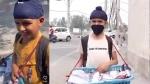 Video: पढ़ाई छोड़कर 10 साल का वंश सड़कों पर बेचने लगा मोजे,  CM ने फोन पर की बात और कहा...