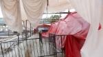 तौकते तूफान के चलते मुंबई में हुई रिकॉर्ड बारिश, BKC कोविड सेंटर को पहुंचा नुकसान