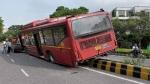 दिल्ली में रफ्तार का कहर, बेकाबू DTC बस ने एक को रौंदा, 3 पुलिसकर्मी सहित 4 लोग घायल