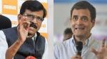 'ट्विटर पर पीएम की आलोचना से कुछ नहीं होगा, जमीन पर उतरिए', शिवसेना ने कसा राहुल पर तंज