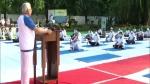 Yoga Day: 1 हजार गांवों में योग-व्यायामशालाएं खुलवा रही हरियाणा सरकार, राजधानी में CM ने किया योग