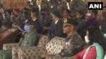कारगिल विजय दिवस से पहले युद्ध के नायकों के परिवारों ने द्रास में उनके बलिदानों को किया याद