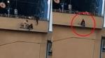 VIDEO: मेट्रो स्टेशन से कूदने ही वाली थी लड़की, तभी फिल्मी स्टाइल में पुलिसकर्मी ने बचाई जान