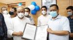 आप विधायक दिलीप पांडे के ऑफिस को मिला देश का पहला आईएसओ प्रमाण पत्र