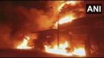 उत्तर-पूर्वी चीन के एक गोदाम में लगी भीषण आग, 14 लोगों की मौत, 12 घायल