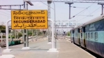 सिकंदराबाद: RPF जवान की मुस्तैदी से चलती ट्रेन के नीचे आने से बची महिला, सामने आया वीडियो