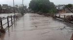 गुजरात में भारी बारिश: नदी-नालों में उफान, सौराष्ट्र के 10 बांध ओवरफ्लो हुए, कई जगह मवेशी डूबे