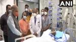 कल्याण सिंह का हालचाल लेने SGPI अस्पताल पहुंचे अमित शाह, सीएम योगी भी रहे मौजूद