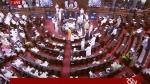 संसद: तख्तियां लेकर पहुंचे 6 TMC सांसदों को राज्यसभा से एक दिन के लिए किया गया सस्पेंड