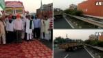 Bharat Bandh LIVE Updates:किसान संगठनों का भारत बंद शुरू,  गाजीपुर बॉर्डर पर  NH-9 और NH- 24 जाम किया