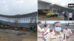 मुंबई के बांद्रा कुर्ला कॉम्प्लेक्स में निर्माणाधीन फ्लाईओवर का हिस्सा गिरा, 13 लोग घायल