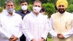 राहुल गांधी के आवास पहुंचे पंजाब के सीएम चन्नी, कैबिनेट विस्तार पर हो रही चर्चा