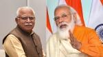 दिल्ली में प्रधानमंत्री नरेंद्र मोदी से मिलकर क्या हुई बातचीत, हरियाणा के CM खट्टर ने बताईं ये बातें
