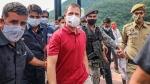 राहुल गांधी की वैष्णो देवी यात्रा पर गर्माई सियासत, BJP ने गंगाजल से किया ट्रैक का 'शुद्धिकरण'
