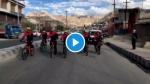 VIDEO: लेह में 11,000 फीट की ऊंचाई पर साइकिलों की रेस, खेल मंत्री अनुराग ठाकुर ने खुद भी चलाई