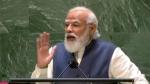 यूएन में पीएम मोदी ने अपने भाषण के अंत में रवींद्र नाथ टैगोर की कविता बोल कर दिया दुनिया को संदेश