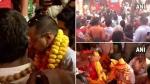 दिल्ली के सीएम अरविंद केजरीवाल ने हनुमान गढ़ी मंदिर में की पूजा-अर्जना, लिया संतों का आशीर्वाद